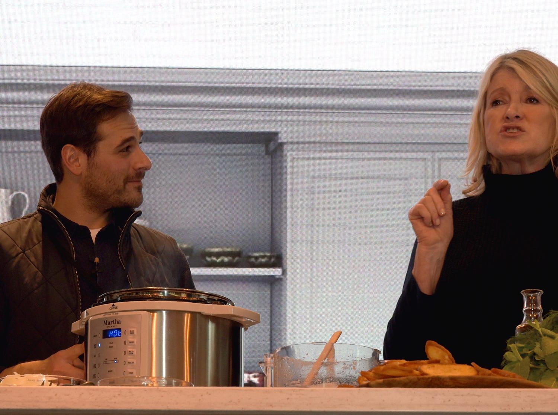 Martha Stewart herself at Chicago's Wine & Food Experience.