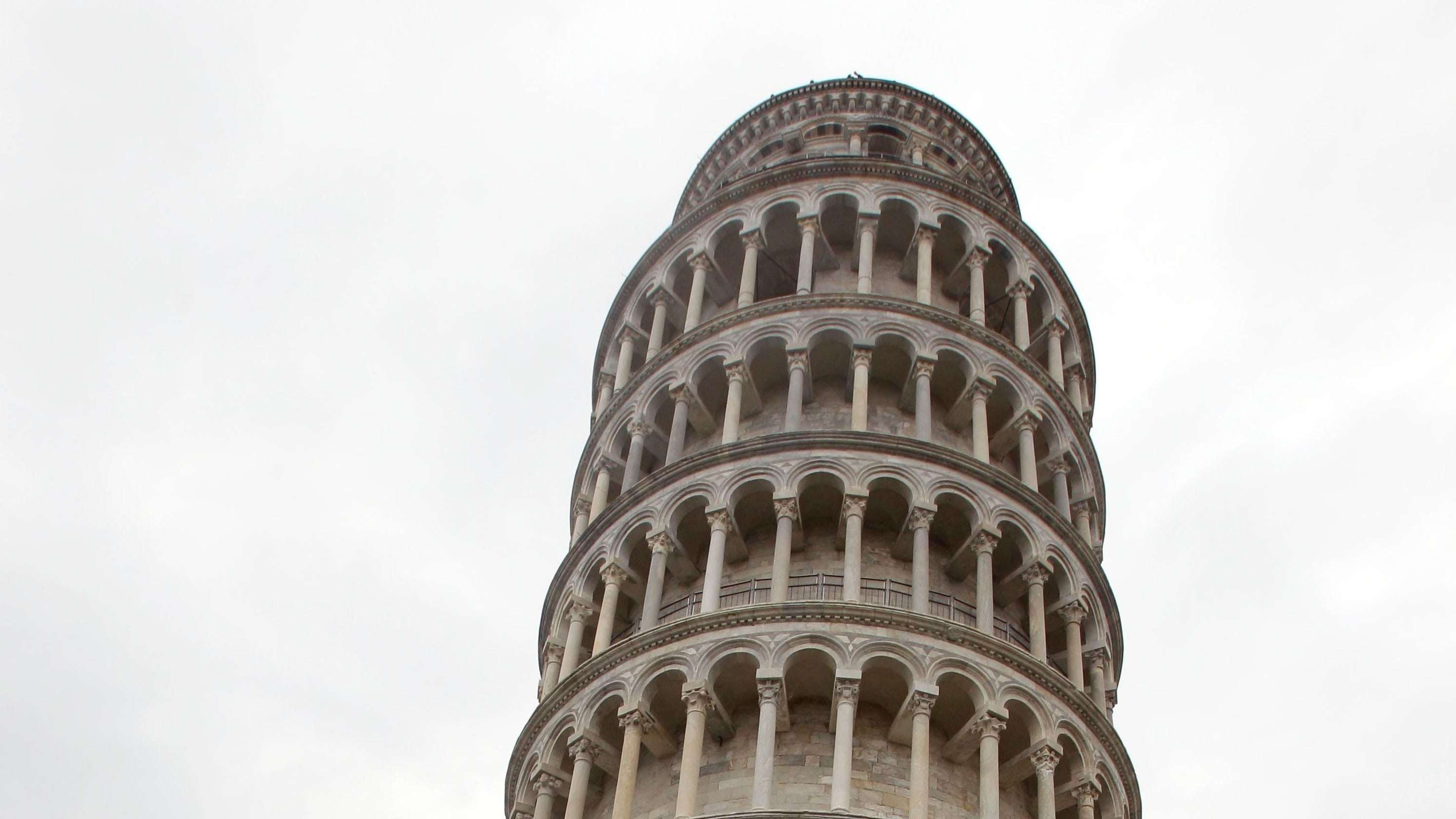 Leaning Tower Of Pisa Isn't Leaning So Much Anymore