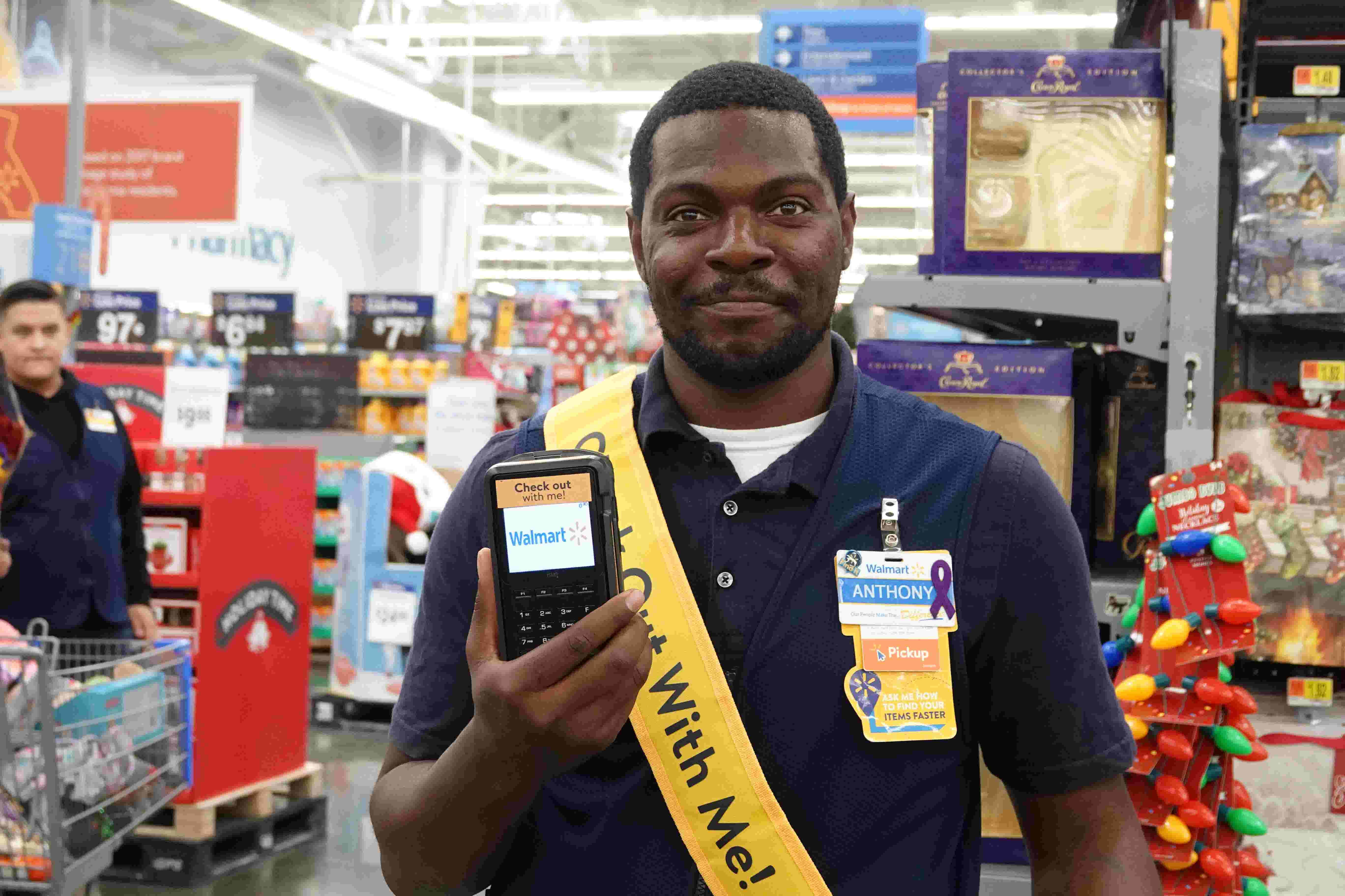 walmart looks to app to speed up checkout process for the holidays