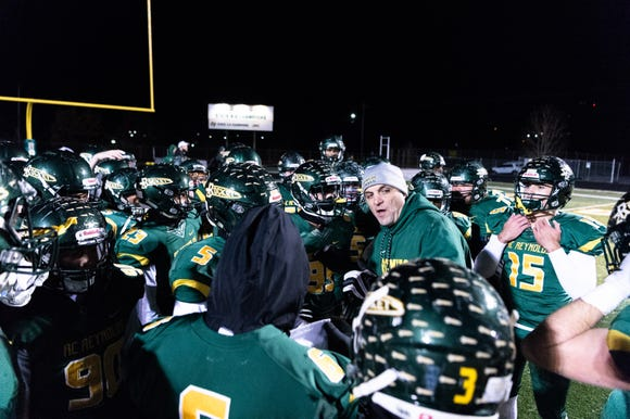 Reynolds hosted Sun Valley for their Friday night playoff game Nov. 23, 2018.