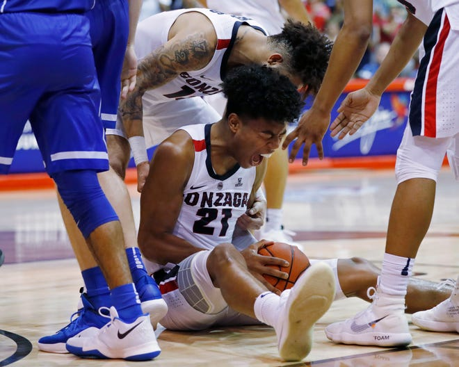 Rui Hachimura of Gonzaga was named the most valuable player of the Maui Invitational, and his Zags could be ranked No. 1 when new polls come out next week.