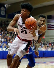 Gonzaga forward Rui Hachimura drives during Wednesday's 89-87 win over Duke in the Maui Invitational championship game.