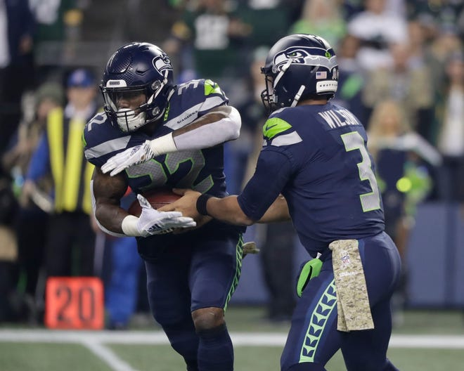 Quarterback Russell Wilson and running back Chris Carson are the keys to the Seahawks' offense.