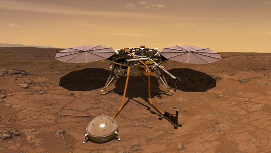 NASA's InSight mission, on track for a Nov. 26 touchdown on Mars, will look for tectonic activity and meteorite impacts on the Red Planet, study how much heat is still flowing through the planet, and track the planet's wobble as it orbits the sun. This helps answer key questions about how the rocky planets of the solar system formed.