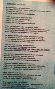 This poem is part of a shrine to a woman who died waiting for a liver transplant. Her two children need help for the holidays.