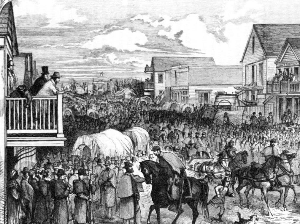 Union forces under Nathaniel Banks invaded Texas in 1863