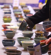 Led by Paul Serena, Perkins' pottery studio manager, artists have created more than 650 handcrafted bowls specifically for the Empty Bowls Project.