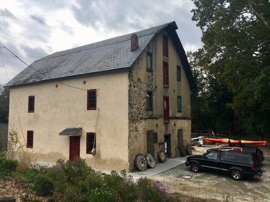 The Asbury Mill on the Musconetcong River is being restored as a community space.