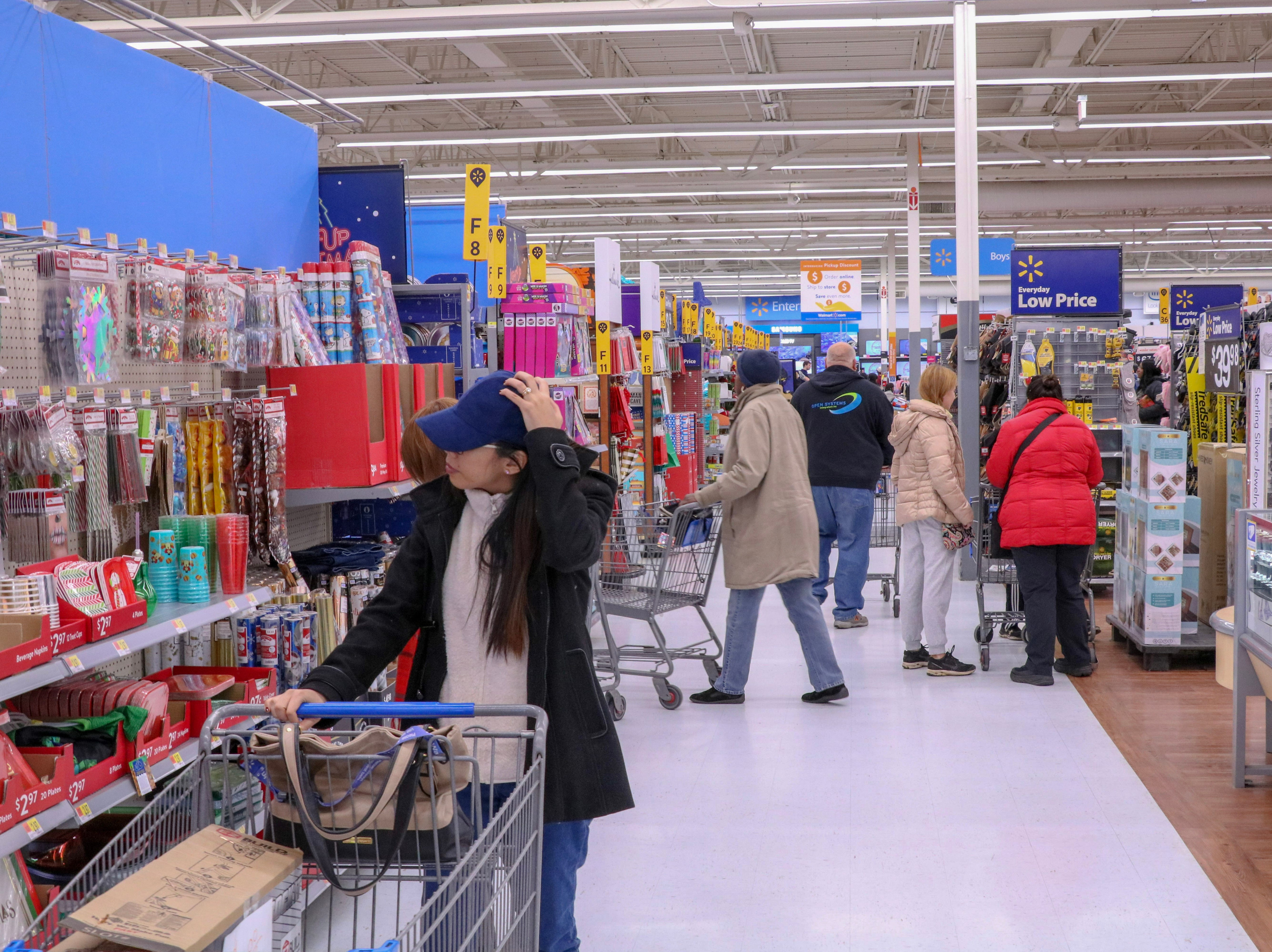 Black Friday shoppers take advantage of good deals at The Marketplace at Manville at 2 p.m. on Nov. 23