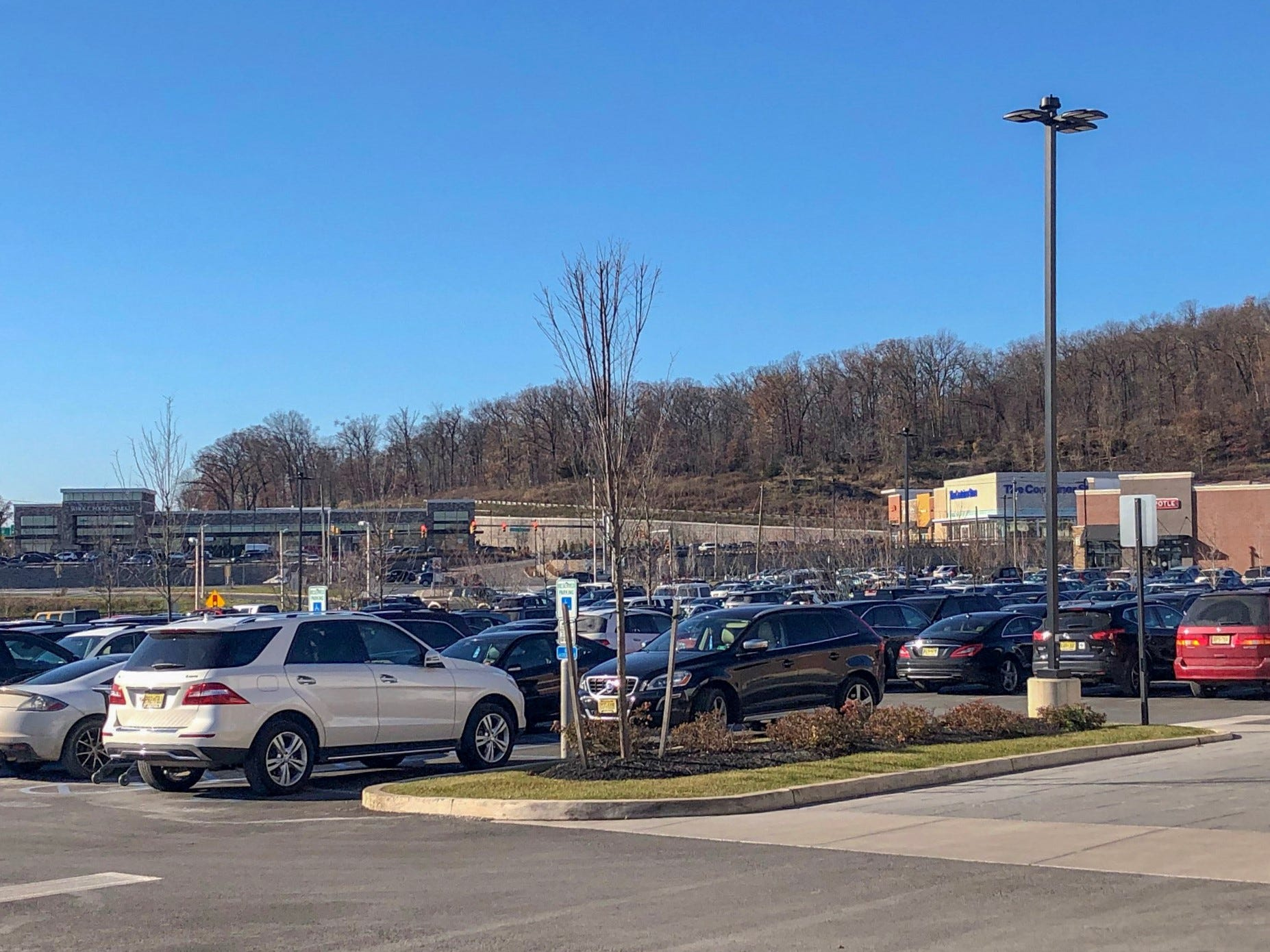 Black Friday shoppers take advantage of good deals at Chimney Rock Plaza in Bridgewater at 1:30 p.m. on Nov. 23