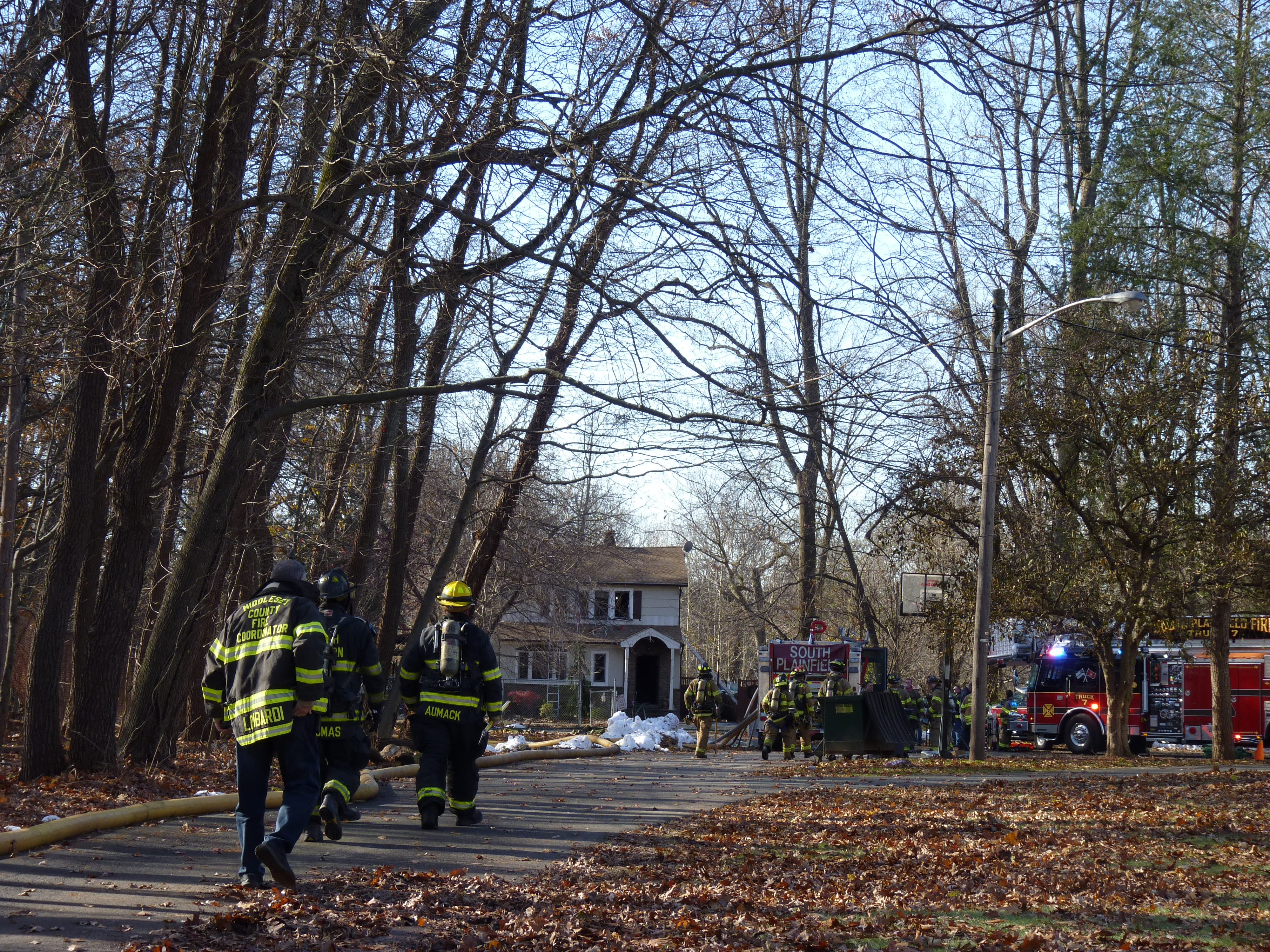 Firefighters from several municipalities were able to knock down a fire in South Plainfield located at 1500 Park Ave. Officials said there were no fatalities.