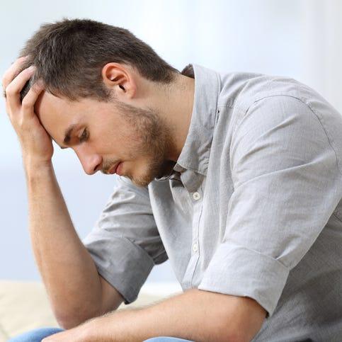 Depressed couple is at relationship impasse