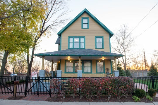 The exterior of A Christmas Story House and Museum