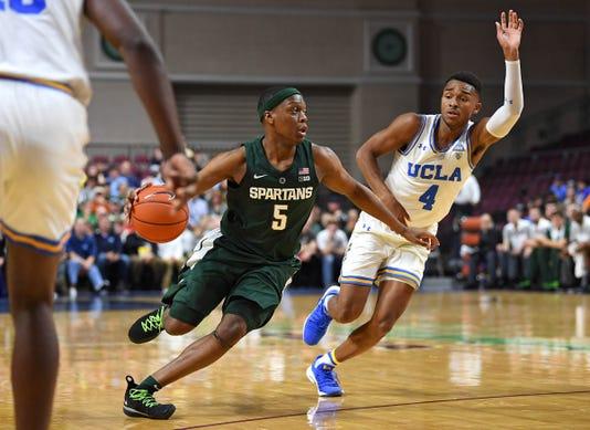 Ncaa Basketball Michigan State At Ucla