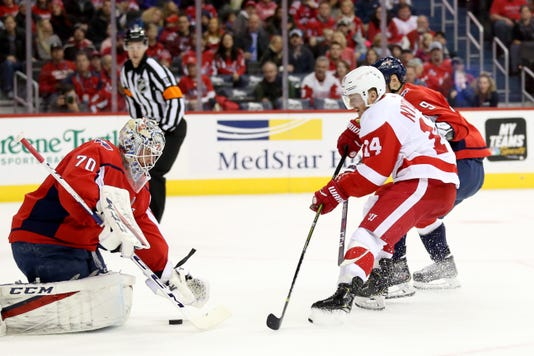 Detroit Red Wings V Washington Capitals