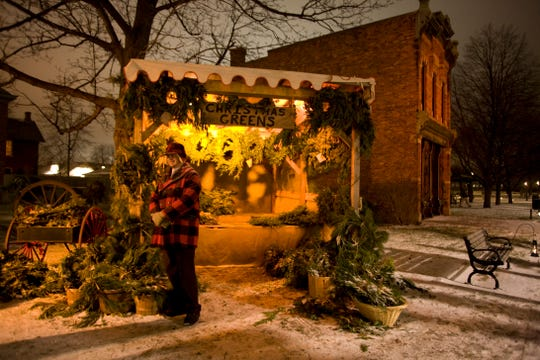 Many of the historic homes of Greenfield Village will be decorated for the holidays for the Holiday Nights in Greenfield Village program.