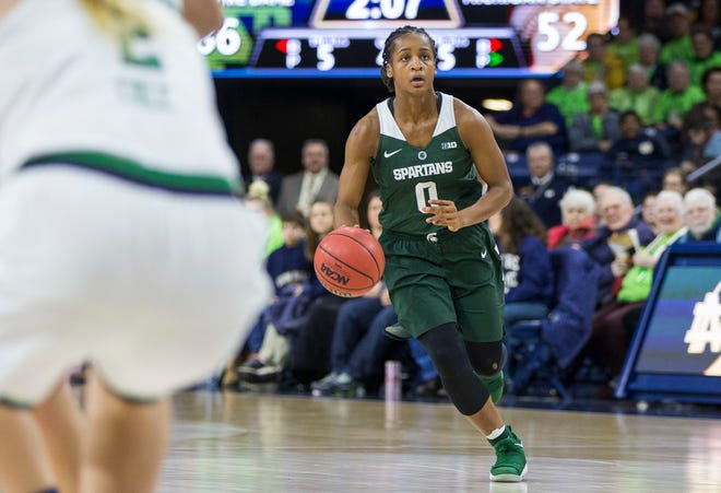 Michigan State's Shay Colley