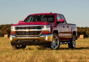 GM is recalling 3.4 million big pickups and SUVs, including the 2016 Chevy Silverado, shown.