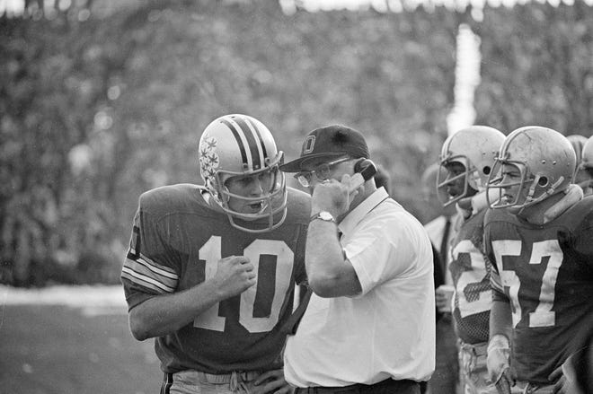 Rex Kern, Woody Hayes and Ohio State gave the Michigan Wolverines a beating to remember in 1968. And they remembered the following season.