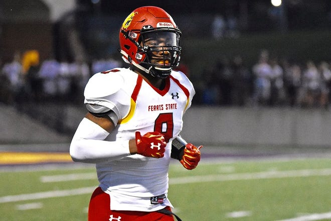 DeShaun Thrower has played nine games for the Ferris State football team this season.