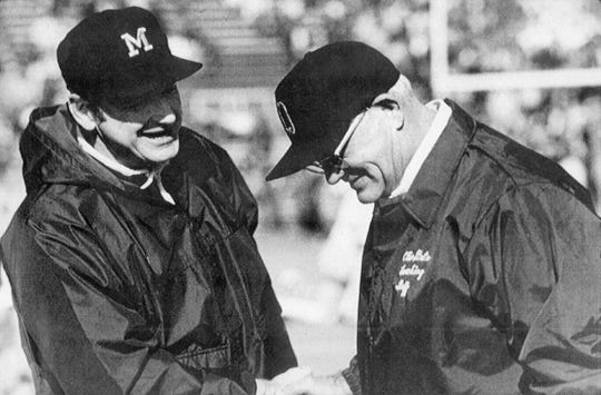 Relations between Michigan and Ohio State were bitter when Bo Schembechler arrived in Ann Arbor in 1969, and they only got testier over the next decade.