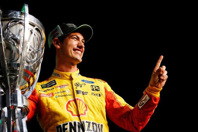 Joey Logano won Roger Penske his 33rd title in motor sports.