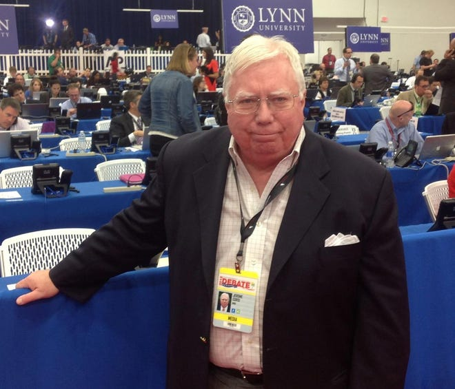 Jerome Corsi, a conservative writer and associate of Trump confidant Roger Stone says he is in plea talks with special counsel Robert Mueller's team.