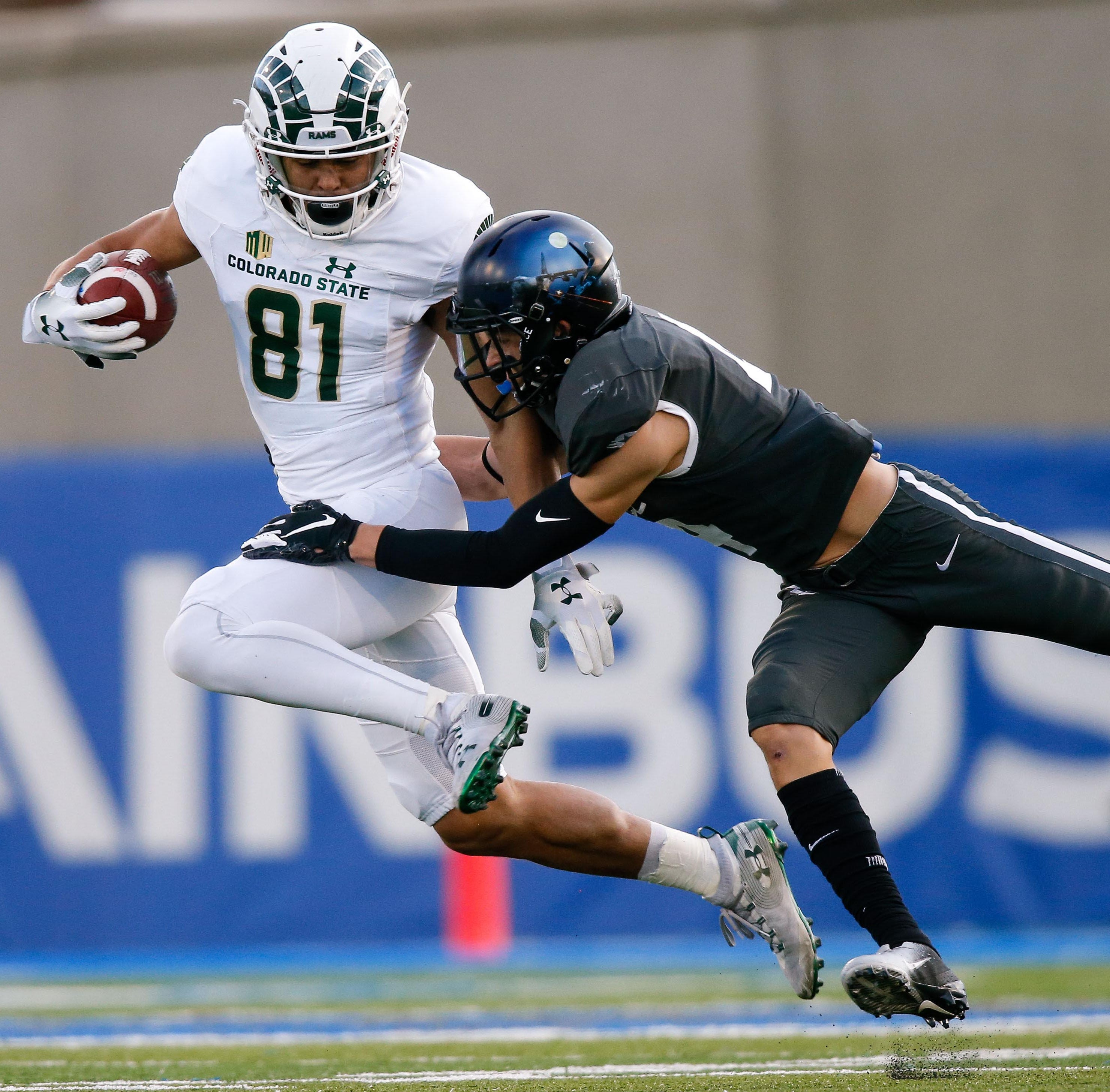 Colorado State football's Olabisi Johnson out to prove he belongs in NFL at scouting combine