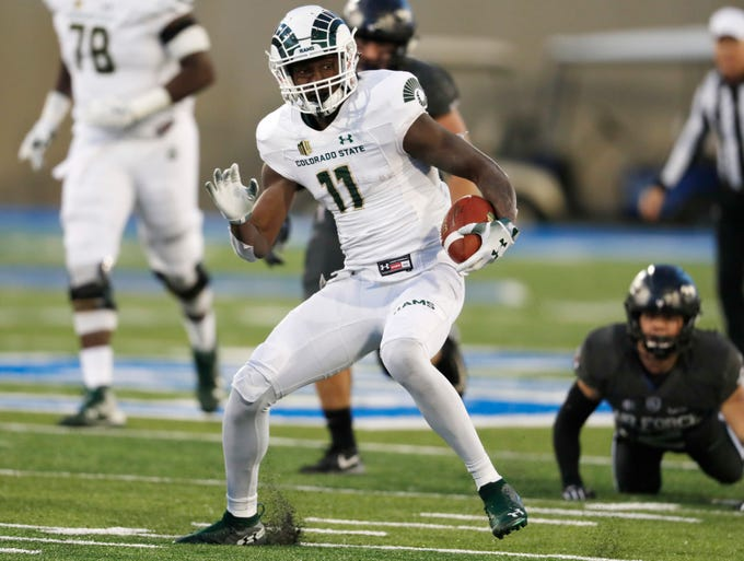 Colorado State University Football Team Takes On Air Force