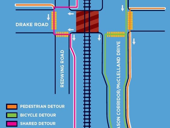 Fort Collins roadwork: Drake Road closing for railroad repairs