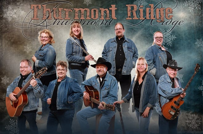 "Thurmont Ridge – a local gospel/bluegrass musical group - will be presenting Christmas concerts at St John's Lutheran Church in Gillett at 7 p.m. Friday, Dec. 7,  and 2 p.m. Saturday, Dec. 8, and at Bethel Lutheran Church, rural Oconto Falls, at 7 p.m. on Sunday, Dec. 9. The group, which consists of members from three area churches, will perform a variety of secular and religious Christmas songs.  A free will offering will be gathered for ""We Believe,"" a program to purchase Christmas gifts and food for the underprivileged in the area. Members include: back row: vocalist Nancy Stark, vocalist, flutist Sue Collins, sound technician Dan Wright, vocalist Rachel Block; front row: guitarist and vocalist Scott Kaczmarek, vocalist Sharon Raatz, guitarist and vocalist Gary Anderson, guitarist/mandolinist and vocalist Amy Lemens, bass and vocalist Mel Raatz. Bethel Lutheran is located at Church Road, and County BB."