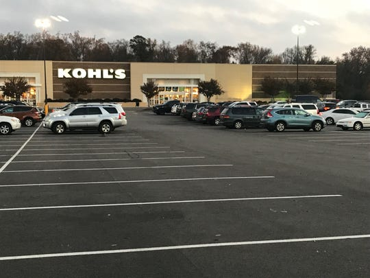 The Woodruff Road Kohl's had more than 100 cars in the parking by 7 a.m. on Black Friday.
