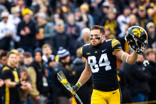 Iowa football: Nick Easley wasn't interested in being a ...