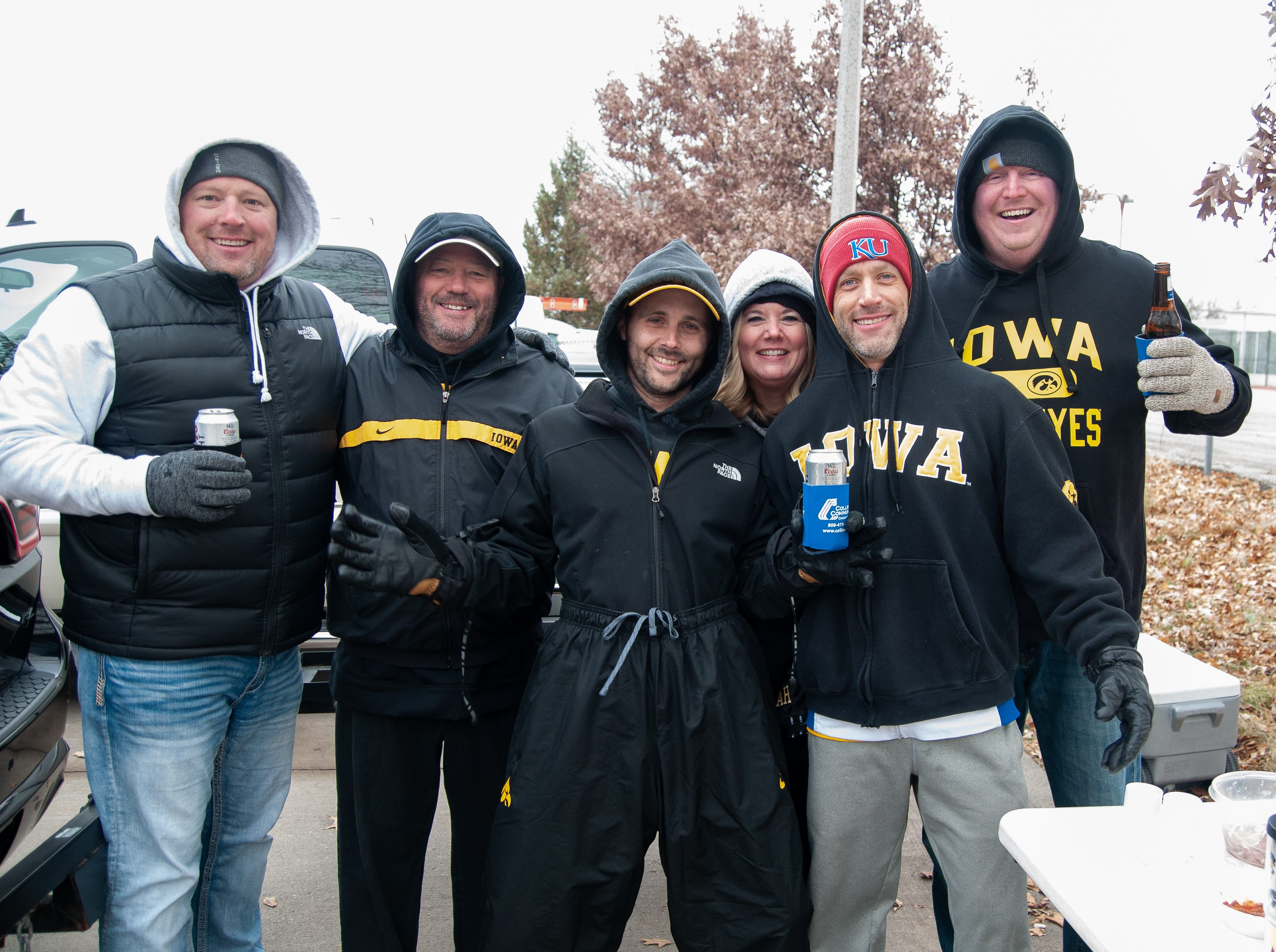 The Morrissey and Davis Tailgate, of Norwalk, Friday, Nov. 23, 2018, while tailgating before the Iowa game against Nebraska in Iowa City.