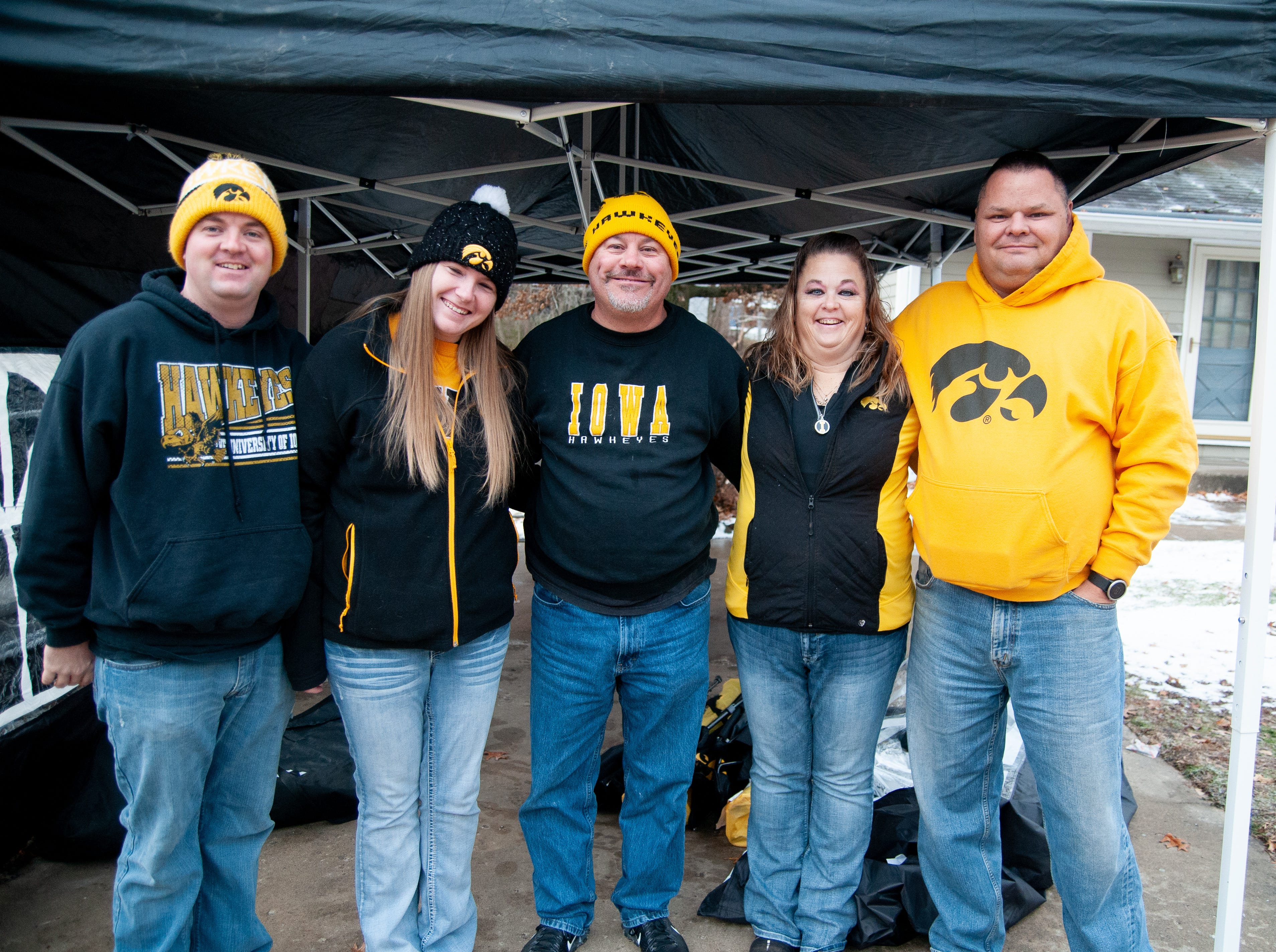 The Cathedral Tailgate, of Wapello, Friday, Nov. 23, 2018, while tailgating before the Iowa game against Nebraska in Iowa City.