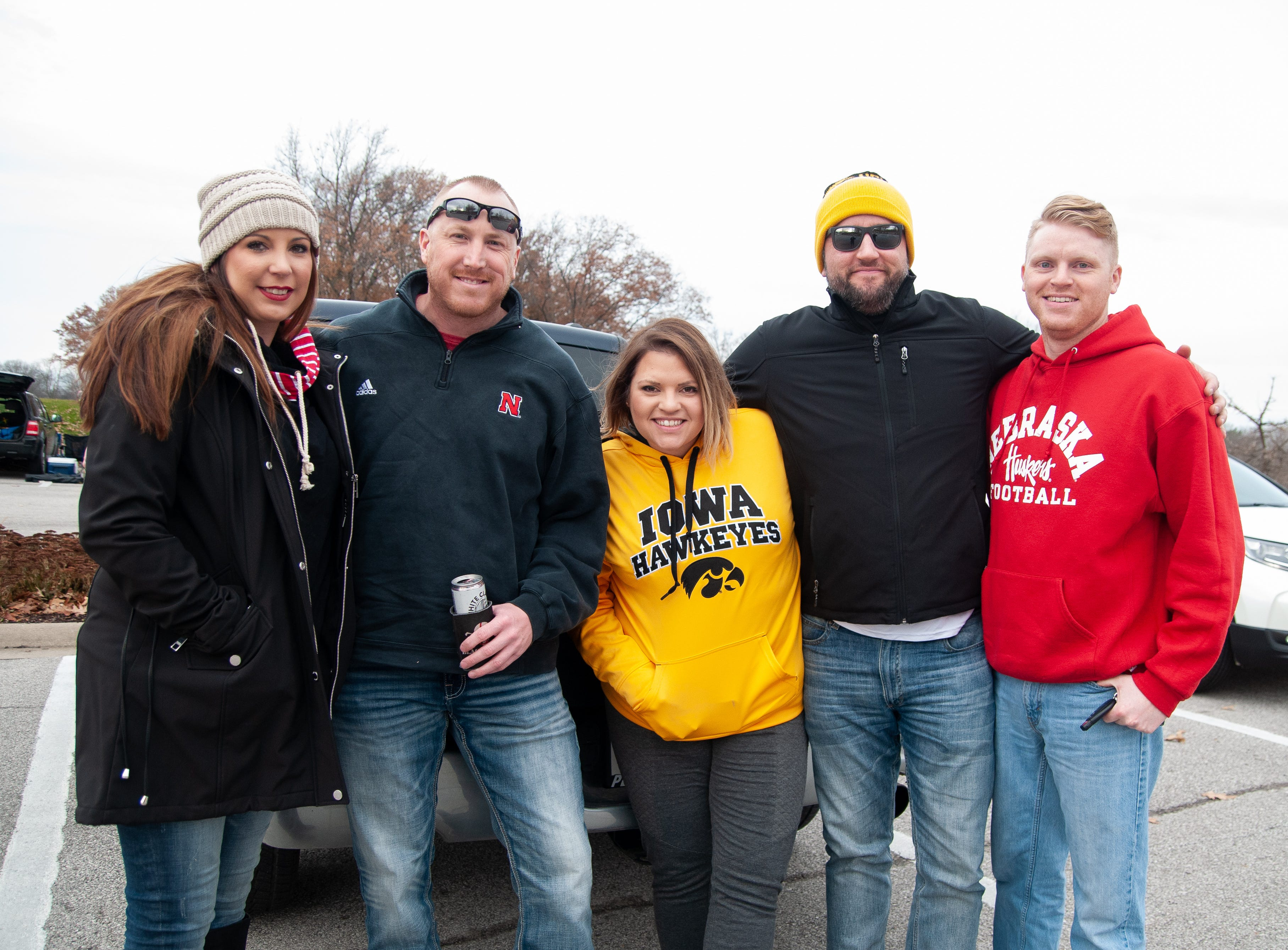 The Brownlee Tailgate, of Council Bluffs and Omaha, Friday, Nov. 23, 2018, while tailgating before the Iowa game against Nebraska in Iowa City.