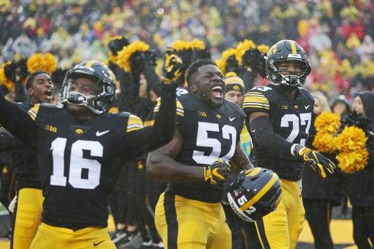This photo is from the end of Iowa's 2018 win against Nebraska. But there's reason to be excited about what the Hawkeyes have done lately on the recruiting trail, too.