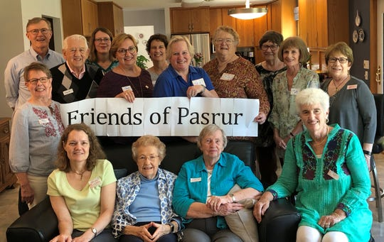 The First Presbyterian Church in Iowa City works to fundraise for scholarships for impoverished Christian girls in Pasrur Pakistan. The following individuals are behind those efforts: Ed Cranston, Herb Wilson, Leann Graves, Jane Cranston, Nancy Gardner, Katie Lind, Anita Burnett, Sue Dallam, Liz Bolin, Joan Decker, Mary Linn, Faryle Nothwehr, Betty Lacina, Janice Wilson and Pat Schnack.