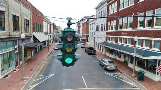 Historic Stoplights Greenville Mainstreet