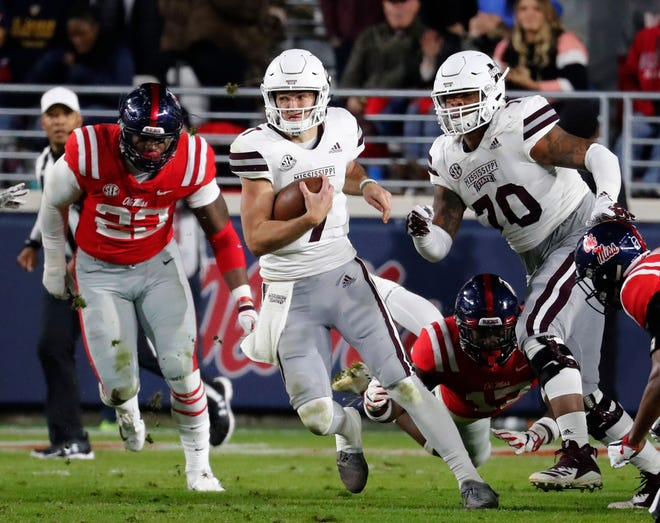 Mississippi State quarterback Nick Fitzgerald and the rest of the Bulldogs find out their bowl destination Sunday afternoon when bids are extended.