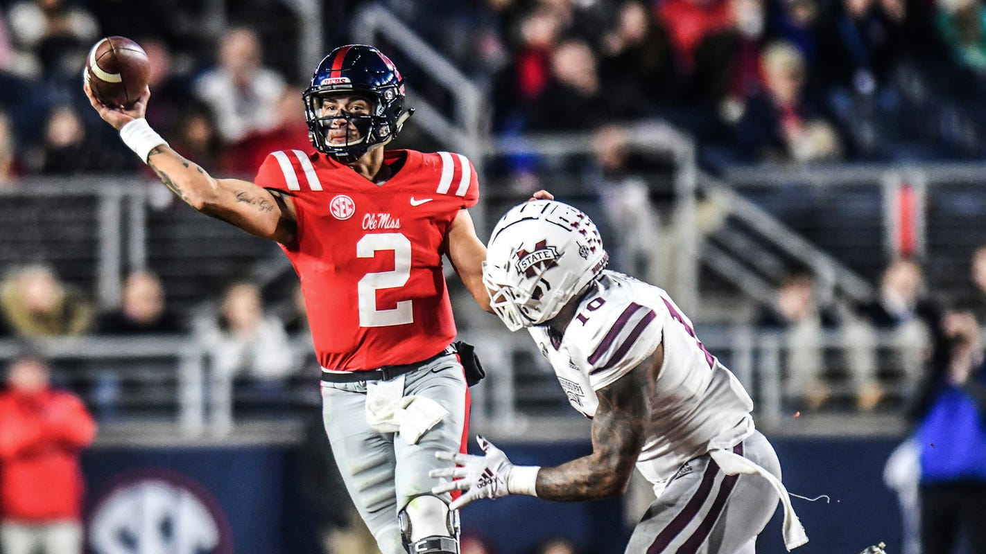Ole Miss Football Schedule 2020.Sec Football 2020 Schedules For Mississippi State Ole Miss