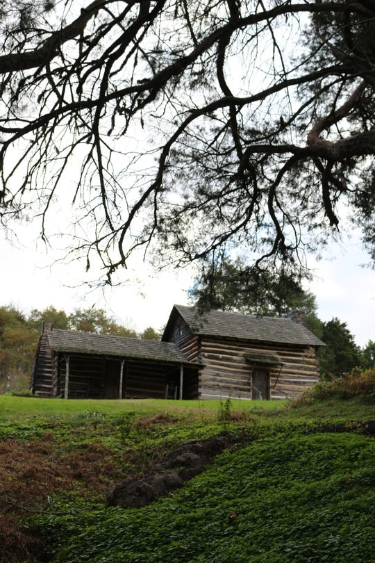 Speckled with historic cabins, Marble Springs is a monument to John Sevier's legacy as a politician and soldier, as well as his lifestyle as an American frontiersman.