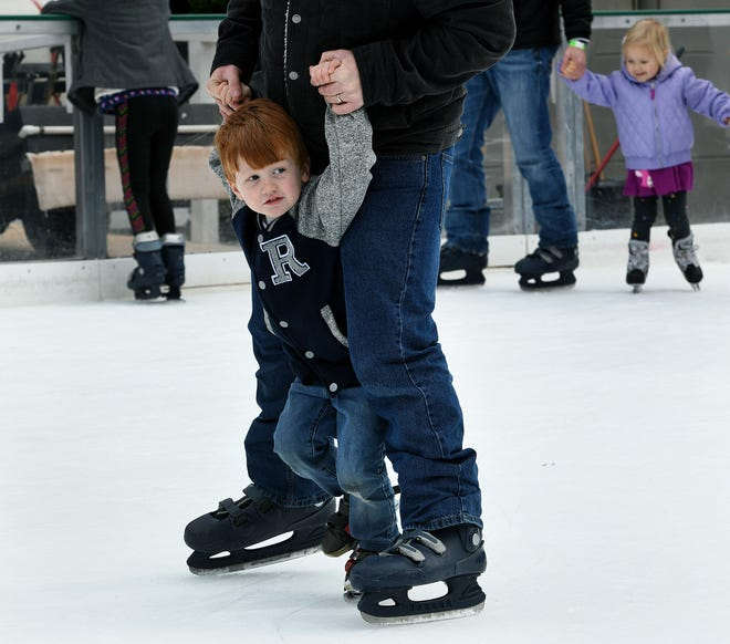 Families and friends enjoy skating in the heart of downtown Knoxville in Market Square. Admission to Market Square's ice rink costs $11 for adults and $8 for children 12 and under. Season passes cost $50 for adults and $35 for children 12 and under.