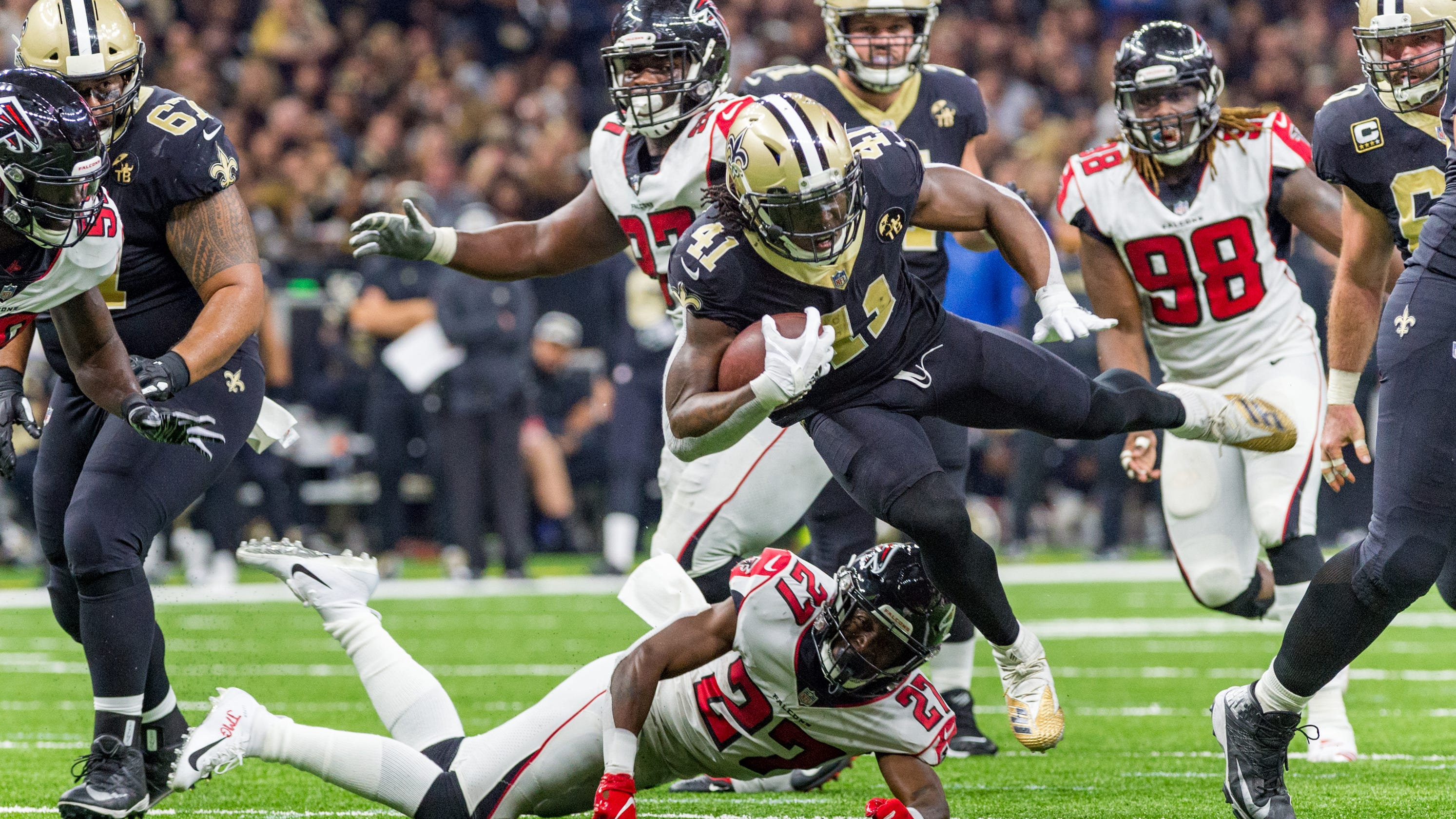 No Fly Zone  Falcons fall to Saints 316d84512