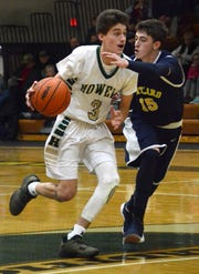 Kip French (3) is one of four returning starters for Howell's basketball team.