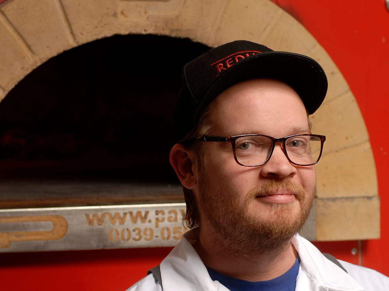 Chef Max Balliet specializes in handmade pastas and wood-fired pizzas at Pizza Lupo located at 1540 Frankfort Ave.  Nov. 16, 2018