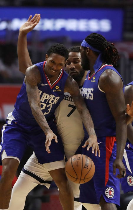 Lou Williams Wayne Selden Montrezl Harrell