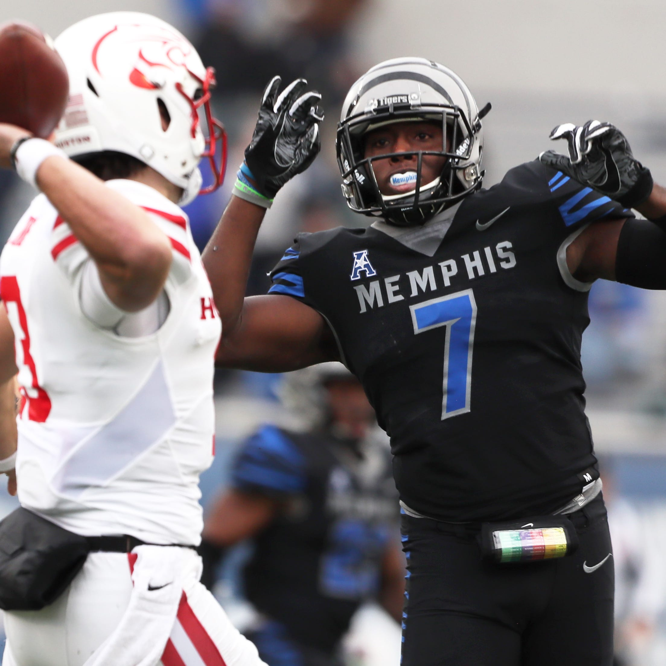 Memphis' Curtis Akins, Trevon Tate sign free agent deals with Bengals, Raiders