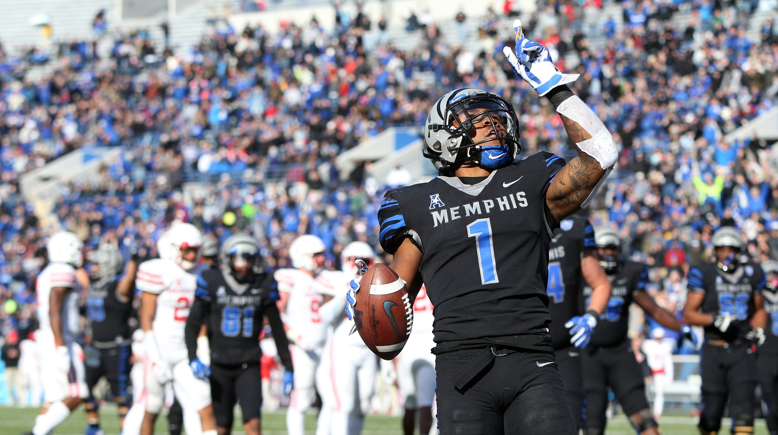 Memphis football s Tony Pollard declares for the NFL Draft 775ec195e16f