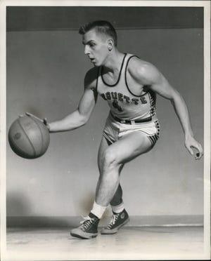 Gene Berce was Marquette's first 1,000-point scorer.